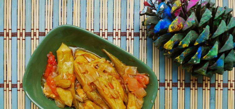 Harika bir yaz yemeği: zeytinyağlı bamya!